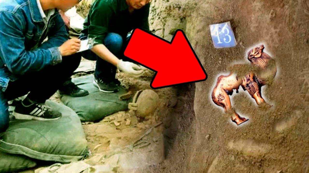 Seltsamer Goldfund Unter Terrakotta-Kriegern Entdeckt