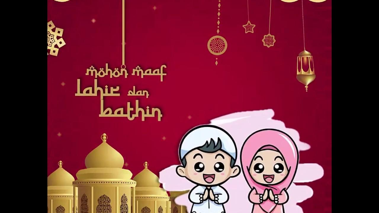Dirumahaja Video Ucapan Selamat Hari Raya Idul Fitri Eid Mubarak 1441 H By Griyakreatif Youtube