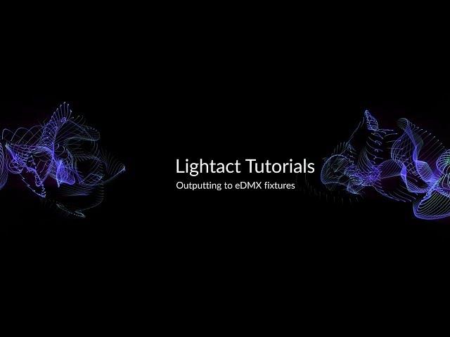 Controlling Art-Net Fixtures | Lightact