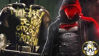Introducing red hood in the batman & dceu