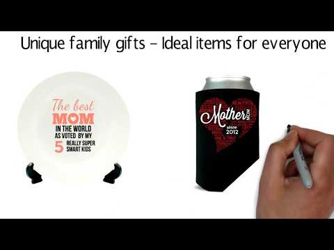 Personalized Gifts - Include Your Own Information - Unique Family Gift Ideas - Personalized Gifts