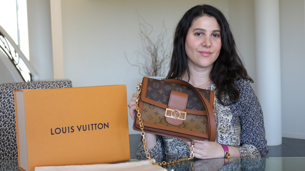5f20284587 LOUIS VUITTON DAUPHINE: WHAT I SCORED ON THE LV WEBSITE!
