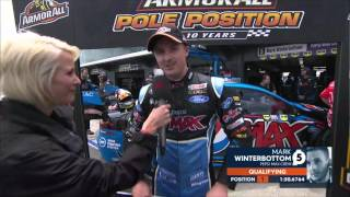 Winterbottom grabs pole