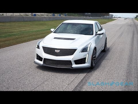 2016 Cadillac CTS-V first-drive