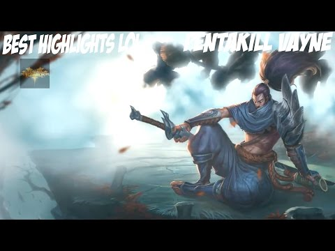 Best Highlight Of Yasuo ❤ Pentakill Yasuo Plays League Of Legends By Best Highlights LoL Full HD
