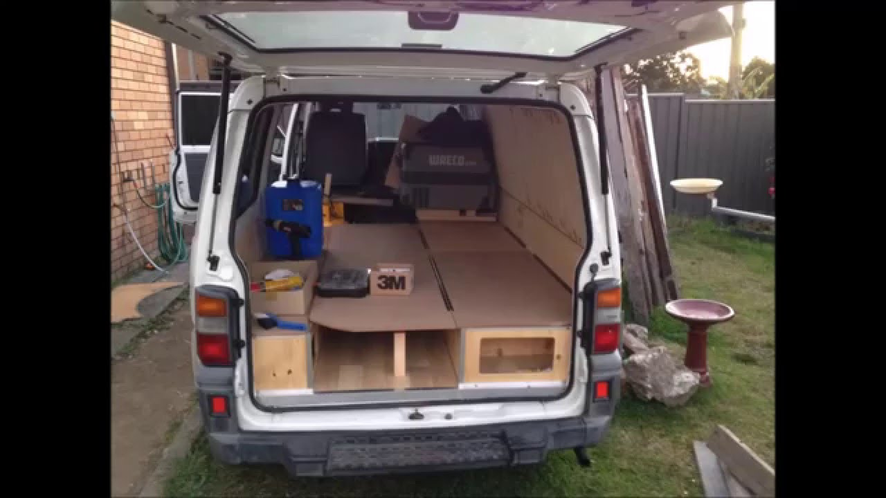 Mitsubishi Express Micro Camper Campervan Conversion Youtube