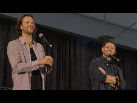 Jared Padalecki and Jensen Ackles GOLD FULL Panel SpnPitt 2017 Supernatural