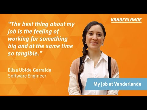 Working as a Software Engineer at Vanderlande