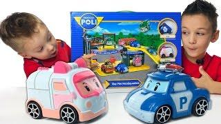 РОБОКАР ПОЛЛИ ШТАБ КВАРТИРА Робокар Поли на Русском Poli Robocar Toys Новые Игрушки