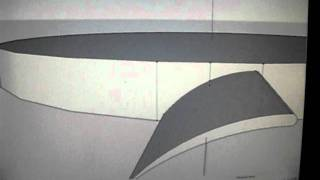 How to draw a radial array of turbine blades (G-SKETCHUP)