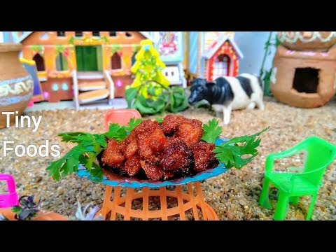 Miniature Cooking Chicken 65 | HOT & SPICY | Mini Food Tasty Chicken Recipe | Tiny Cooking Show