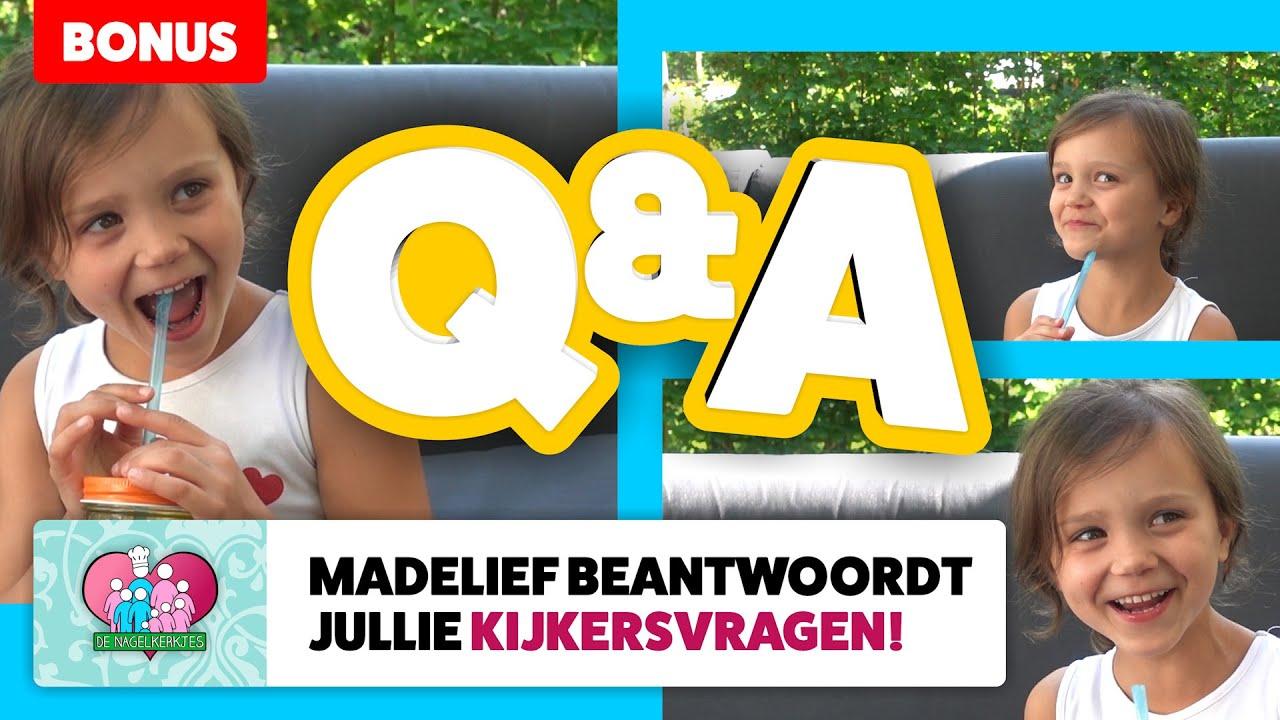 Q&A met MADELIEF: ze BEANTWOORDT jullie KIJKERSVRAGEN! - #651