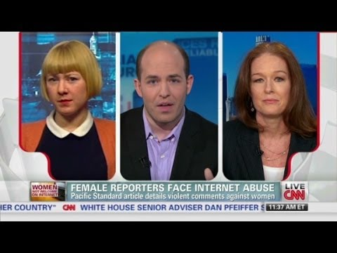 Female reporters face Internet abuse