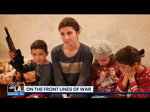 British Journalist,filmmaker documents war in Artsakh
