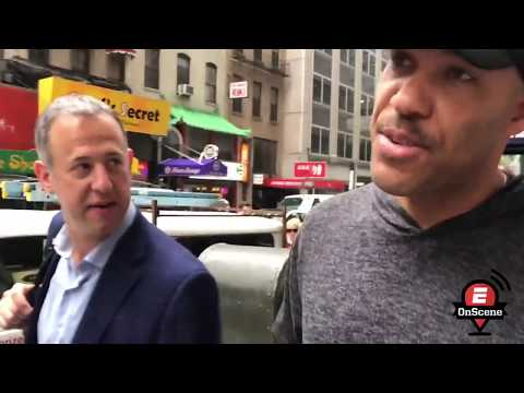 Download Youtube: LaVar Ball takes over streets of New York
