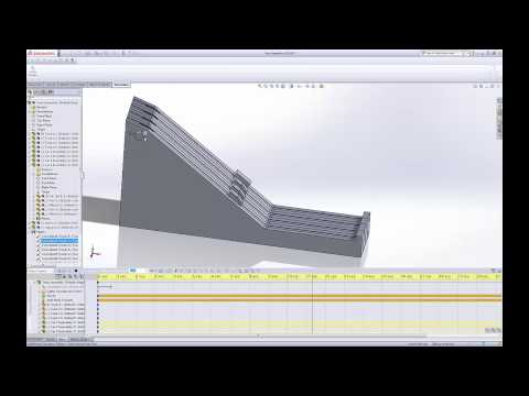 SolidWorks Motion Study using Gravity