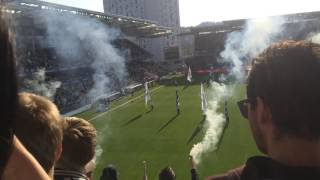 Rosenborg vs Stabæk 2016 -Pyro