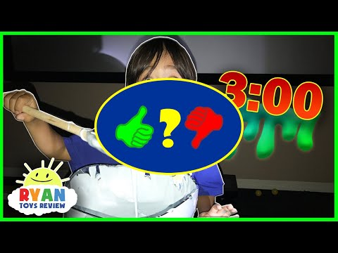 DO NOT MAKE FLUFFY SLIME AT 3am Or 3pm! Omg So Scary 3am Challenge - Video Review