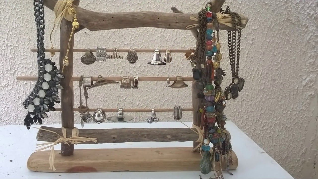 Bois flott cr ations d 39 objets divers youtube for Creation objet en bois flotte