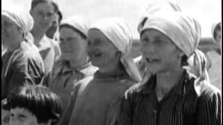 Кадры первых месяцев войны 1941 г. Фрагменты из фильма Застава Жилина 6 серия