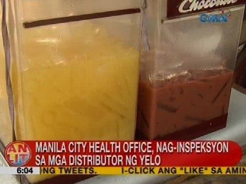 UB: Manila City Health Office, nag-inspeksyon sa mga distributor ng yelo