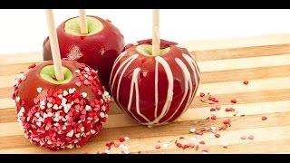 Яблоки в карамели и шоколаде в домашних условиях