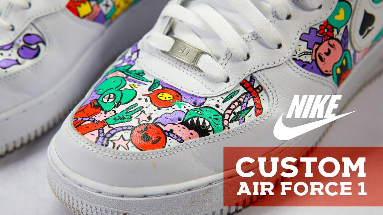 custom af1 paint Promotions