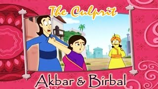 Akbar Birbal Animated Moral Stories || The Culprit || Hindi Vol 2