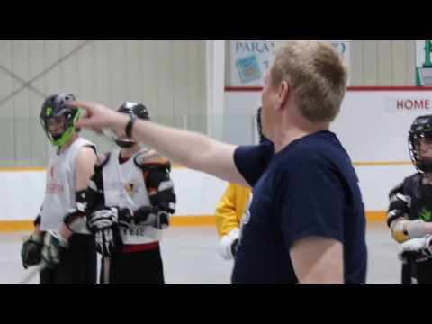 Box Lacrosse Progression Drill Demo