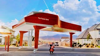 """We Created The World's Largest Piano! Für Elise Jam"""" - In Augmented Reality - The Piano Guys"""