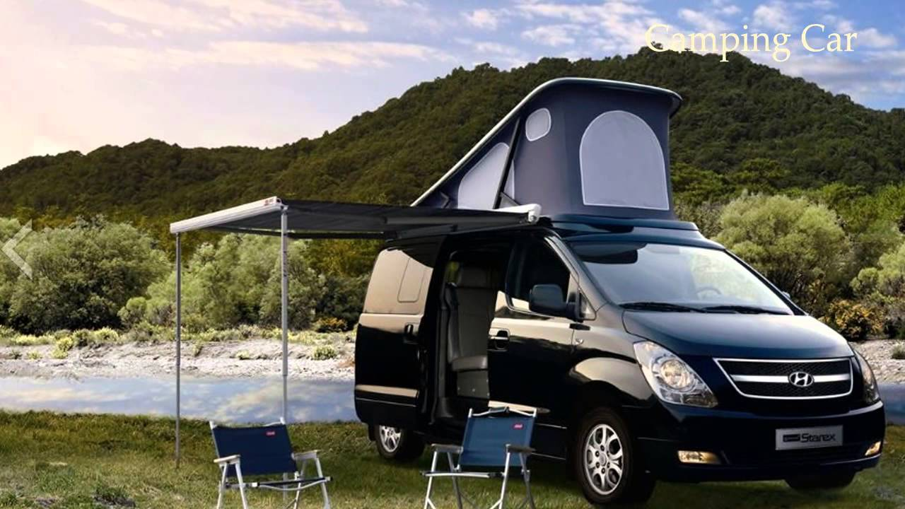 Camping car the new 2013 grand starex hyundai youtube for Housse tyvek camping car
