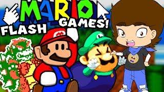 Mario's WEIRD Flash Games - ConnerTheWaffle
