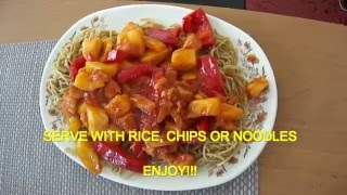 quick and easy sweet and sour chicken hongkong style