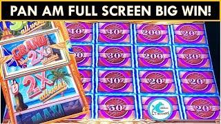 BIG WIN!!! ★Pan Am Mighty Cash Slot Machine★ Vegas Wins!!!