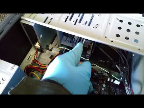 How to: Clean the dust off a cpu and power supply cooling fans