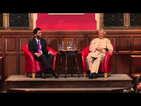 Prof. Muhammad Yunus - Managing Risk and Defaults in Microfinance