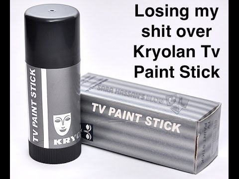 How To Apply Kryolan Tv Paintstick Youtube