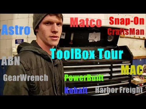 "Toolbox Tour Husky 52"" | With Snap-On/HF/Matco/MAC/Astro etc."