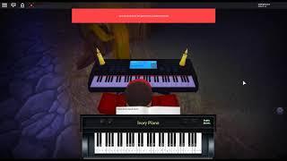 Demain - Konosuba 2 par: Machico sur un piano ROBLOX.