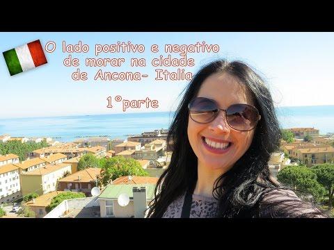 O lado positivo e negativo de morar em Ancona na regiao Marche (1º parte) video 25