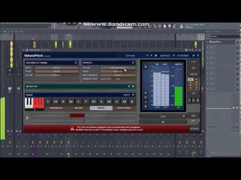 FL Studio 12 Tutorial - Autotune effect on rap vocals using