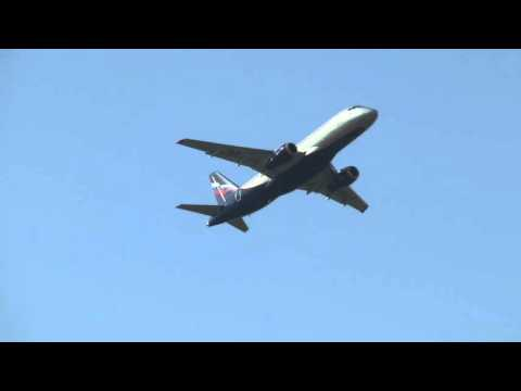Plane Spotting аt Moscow Sheremetyevo International Airport HD 1080p