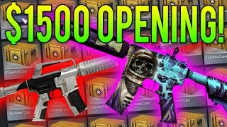 300 GAMMA CASES... (CS:GO Case Opening)