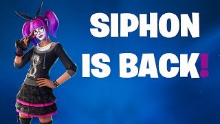 SIPHON IS BACK! (FORTNITE BATTLE ROYALE)
