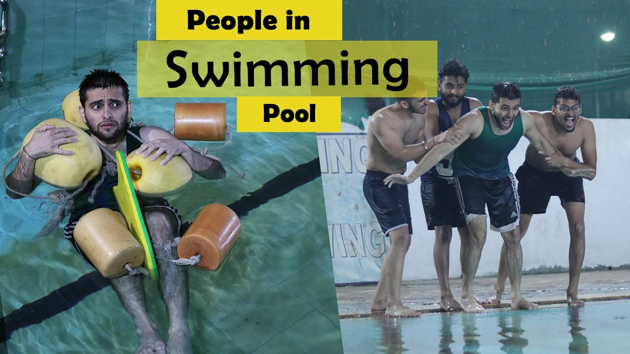 Download People in Swimming Pool | Funcho