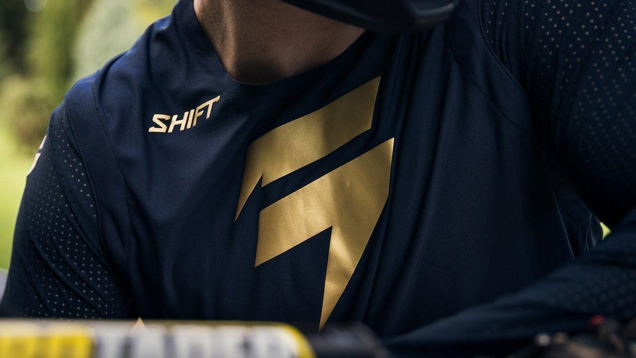 Shift 2018 3lue Blue Label LE Risen 2.0 MX Motocross Jersey