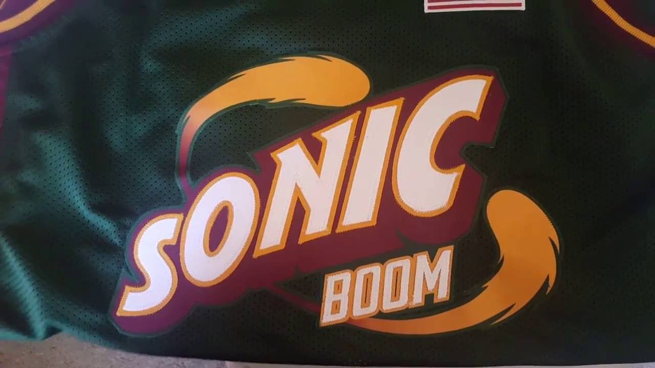 9619a1d4eee New Jersey Sets Street Fighter Super Sonics Jersey Review - YouTube