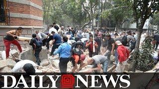 Powerful 7.1 magnitude earthquake rocks Mexico City
