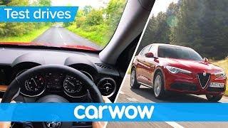 Alfa Romeo Stelvio SUV 2018 POV review | Test Drives