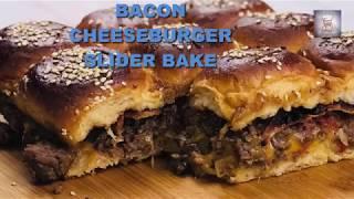 Bacon Cheeseburger Slider Bake - Tasty and Easy